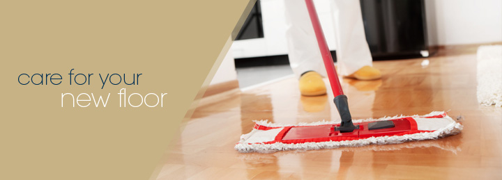 Care for your new floor